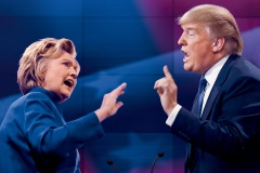 donald-trump-hilary-clinton-facing-each-other-pointing-cropped-240x160